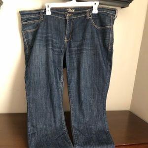 Old Navy dark wash diva skinny jeans